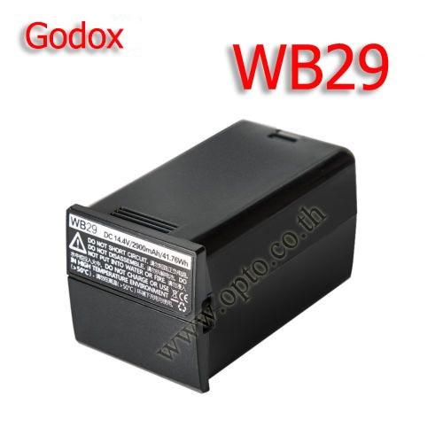 WB29 แบตเตอรี่ AD200แพ็ค14.4โวลต์2900มิลลิแอมป์ชั่วโมงสำหรับAD200กะพริบ(AD200แบตเตอรี่WB-29)
