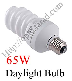 65W 5500k E27 Continuous Lighting Day light Bulb