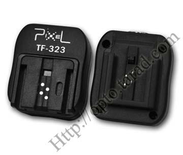 TF-323 SONY Minolta TTL Hot Shoe to PC Sync Adapter