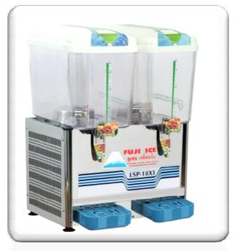 ตู้กดน้ำหวาน แบบน้ำพุ 2 โถ (12 ลิตร) ฟูจิไอซ์
