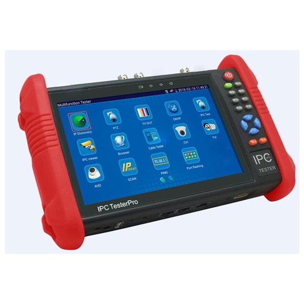IPC-9800ADH for TVI CVI AHD IP analog testing (เครื่องทดสอบสัญญาณกล้องวงจรปิด)