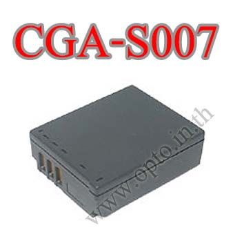 OEM Battery for Panasonic CGA-S007 TZ1 TZ2 TZ3 TZ4 TZ5