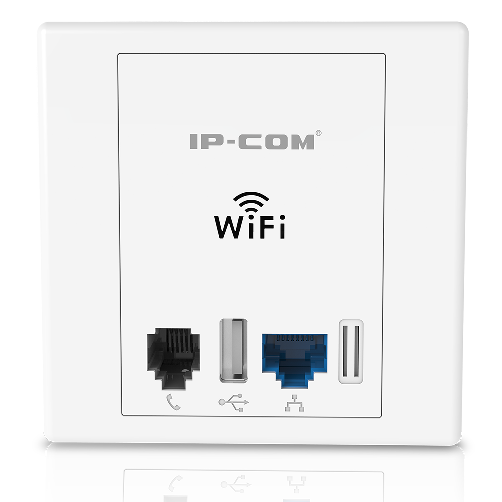 IP-COM W30AP 300M In-Wall Access Point