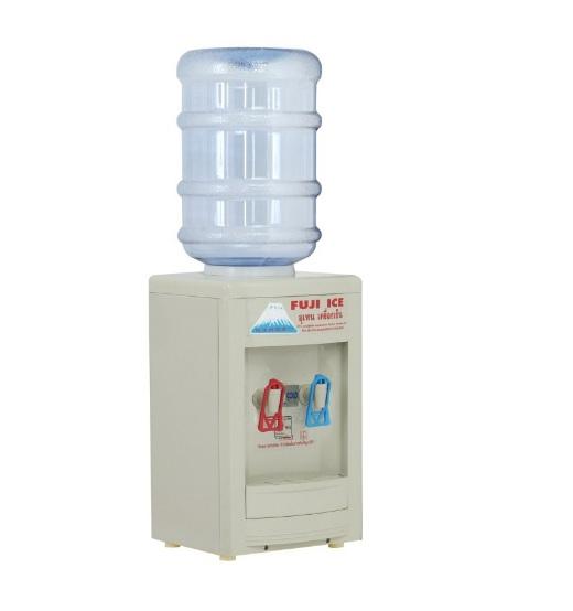 ตู้ทำน้ำร้อนน้ำเย็นขวดคว่ำ แบบตั้งโต๊ะ ฟูจิไอซ์ (FUJI ICE)