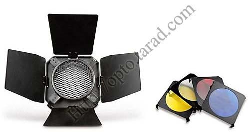 BD03 Barndoor,color filtersHoney Comb with universal adapter 98cm