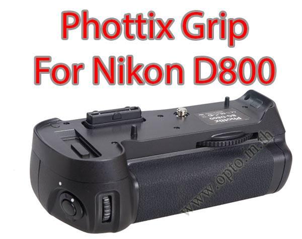 Phottix BP-D800 Premium Grip for Nikon D800 (MB-D12)