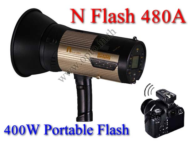 Wireless Portable Flash Studio N Flash 480A