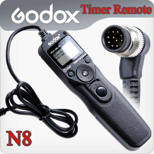 Godox Timer Remote Control MC-36 For Nikon N8 D300/D700/D800