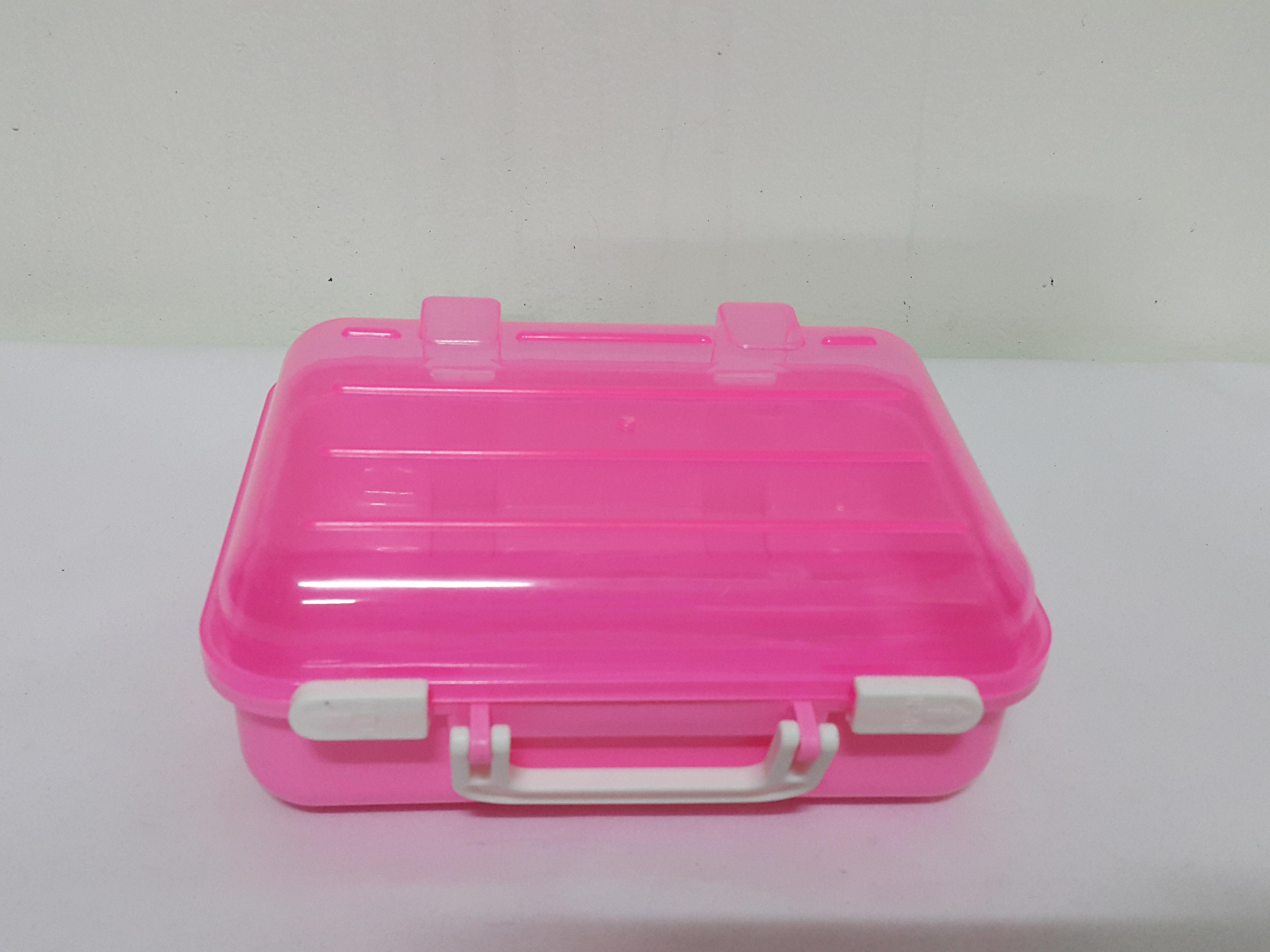 กล่องกระเป๋าเดินทาง มีหูหิ้ว (B001)