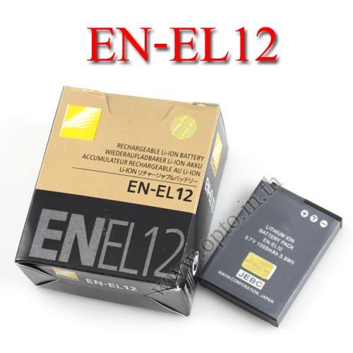 OEM Battery for Nikon EN-EL12 Coolpix AW100 P300 S1000 แบตเตอรี่กล้องนิคอน