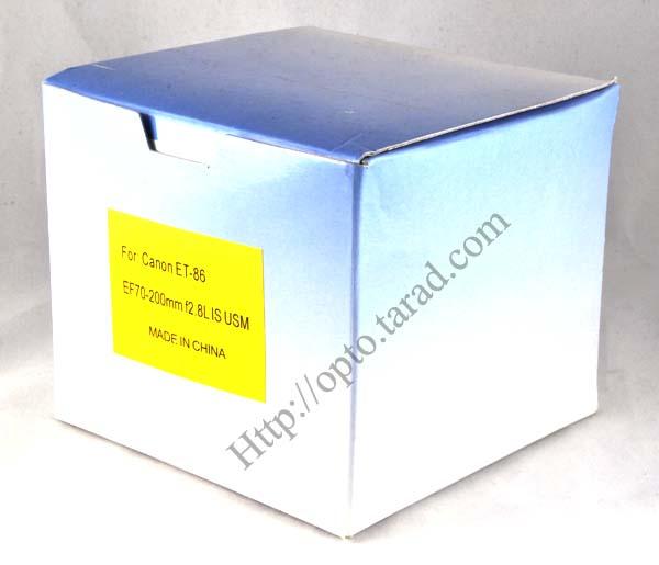 Len Hood ET-86 ET86 (Black) For Canon EF 70-200mm f/2.8L IS USM เลนส์ฮูดแคนนอน