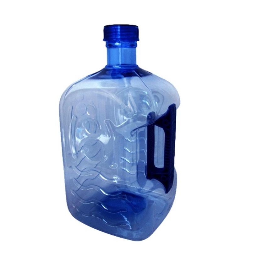 ถังน้ำดื่ม มีมือจับ ขนาด 7.9 ลิตร (สีฟ้า)
