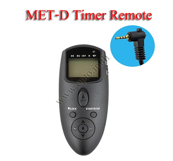 Met-D Multi-Exposure Timer Remote Control for PANASONIC DMW-RS1 GH4 GX7 GF1 FZ50 รีโมทตั้งเวลาถ่า
