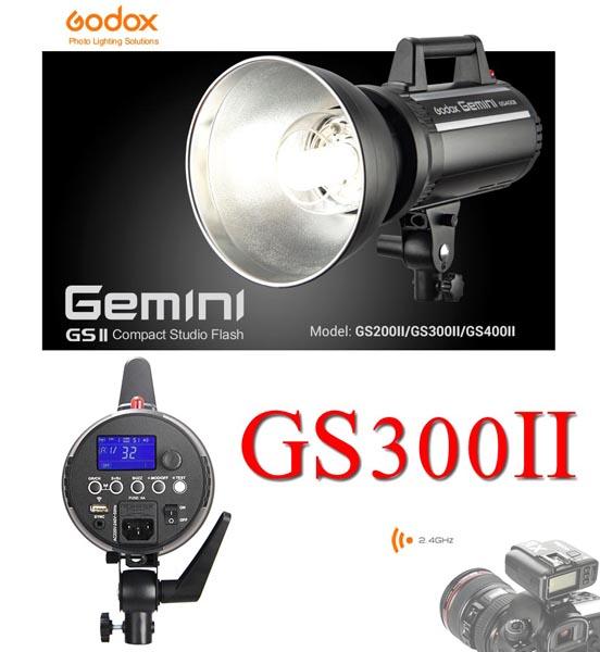 GS300II GS-300II Godox Studio Strobe Flash 300W Built in 2.4Ghz wireless X System แฟลชสตูดิโอ