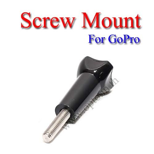 Screw for GoPro Hero3+ 2 1 Accessories Camera หัวน๊อตล็อคสำหรับกล้องโกโปร
