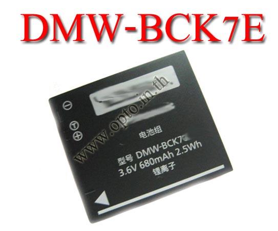 OEM Battery for Panasonic DMW-BCK7E DMC-FH5 FH6 FH8 FH25 FH27 FP5 FX78 แบตเตอรี่พานาโซนิค