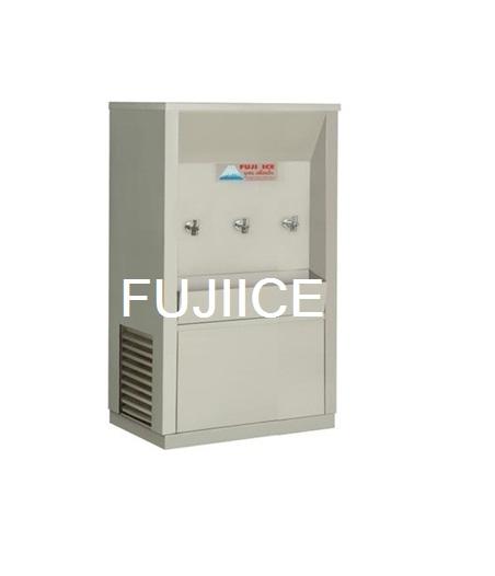 ตู้ทำน้ำเย็นต่อท่อประปา 3 ก๊อก ฟูจิไอซ์