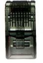 LINK CAT 5E RJ45 PLUG (ตัวผู้), Crystal BLACK บรรจุ 10 ตัว/Pkg