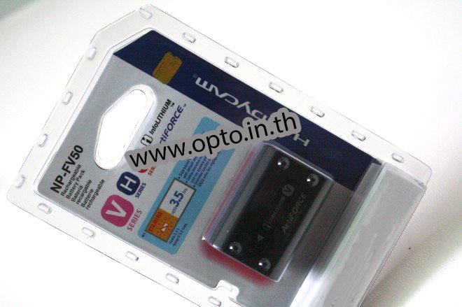 Li-on Rechargeable battery NP-FV50 For Sony แบตเตอรี่กล้องโซนี่