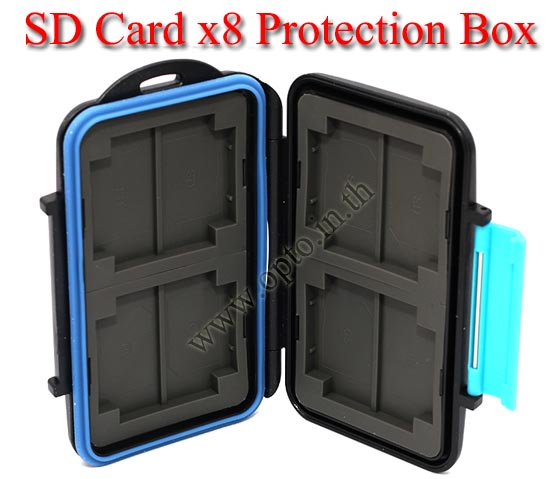 MC-2 Card Box for Memory Compact Flash SD Card กล่องเก็บเมมโมรี่