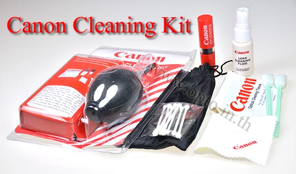 Canon 7-in-1 Cleaning Kit(Brush+AirBlower+MicroFiber Cloth-Sensor Cleaning)