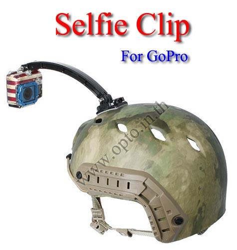 Selfie Clip for GoPro Hero4 3+ 2 1 HD Accessories ขายึดถ่ายตัวเองสำหรับกล้องโกโปร