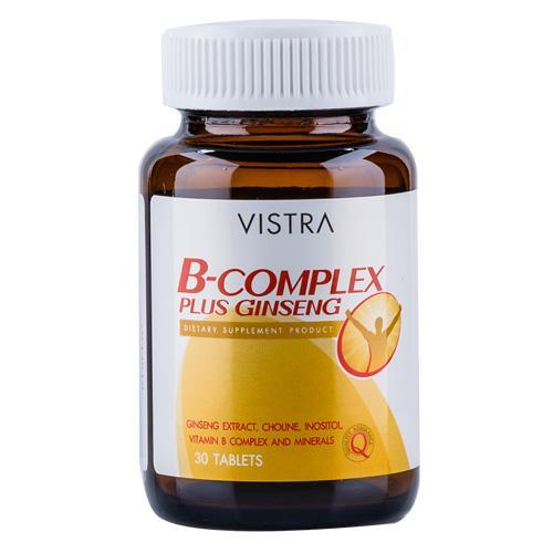 VISTRA B COMPLEX PLUS Ginseng 30s