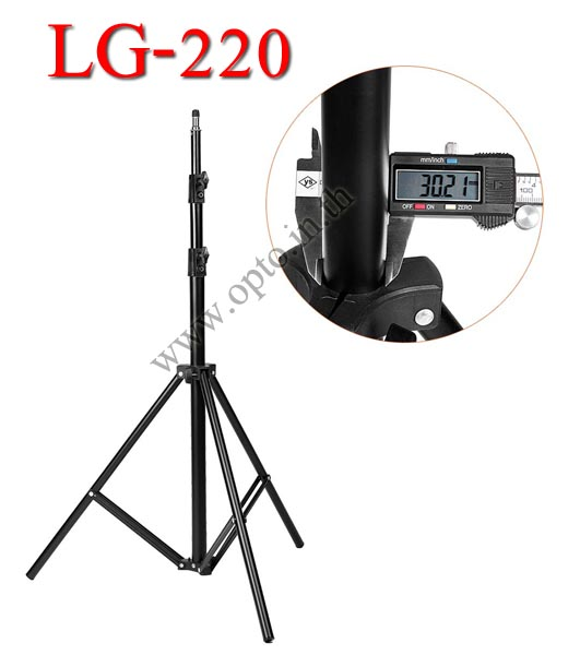 LG-220 Light Stand for Flash Studio (H/220cm.)