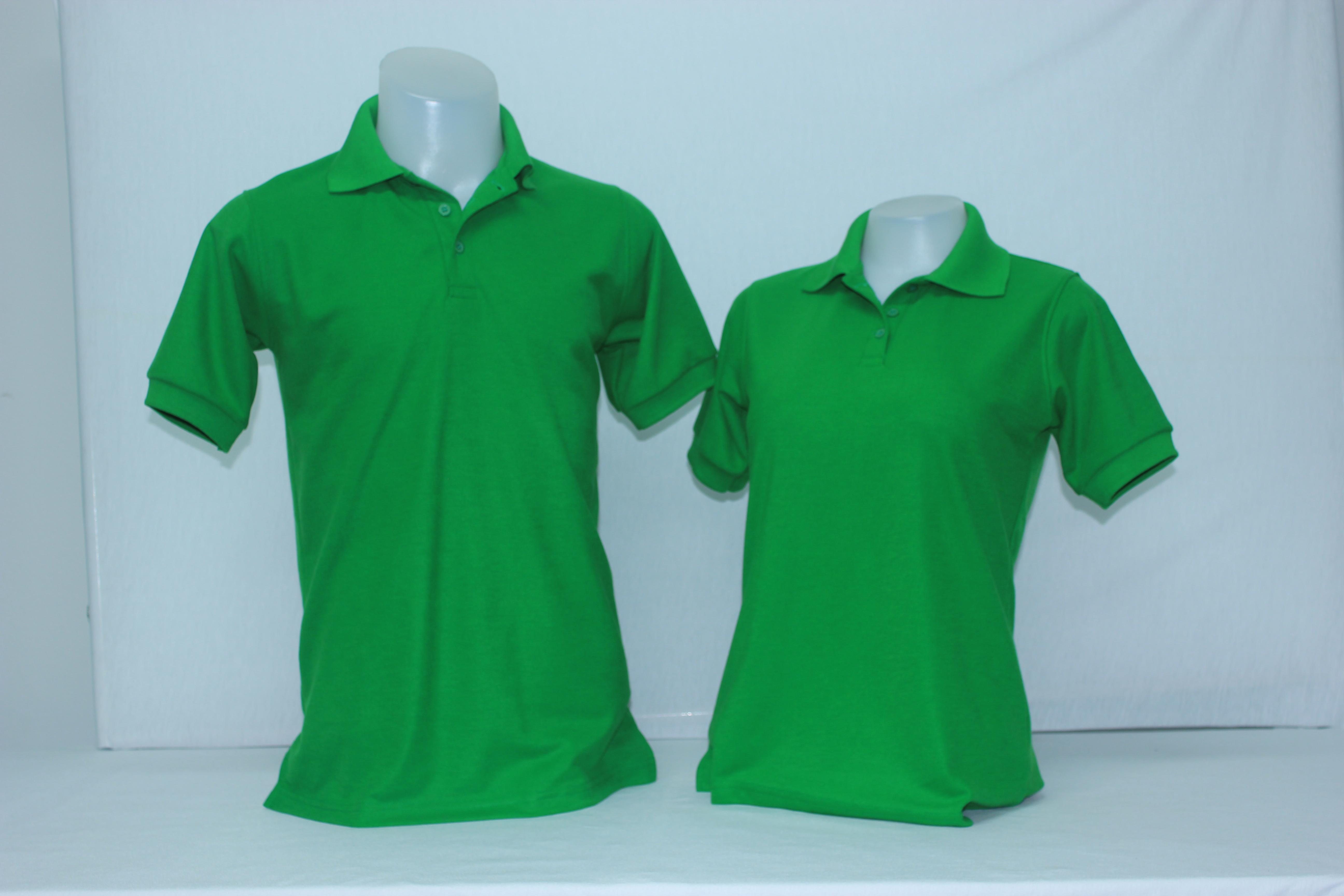 เสื้อโปโลหญิง สีเขียวไมโลเข้ม ไซส์/S/รอบอก36