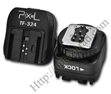 TF-324 Hot Shoe Convert Adapter to Flash SONY F58AM F56AM F36AM