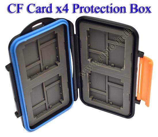 MC-4 Card Box for Memory Compact Flash MicroSD XD กล่องเก็บเมมโมรี่
