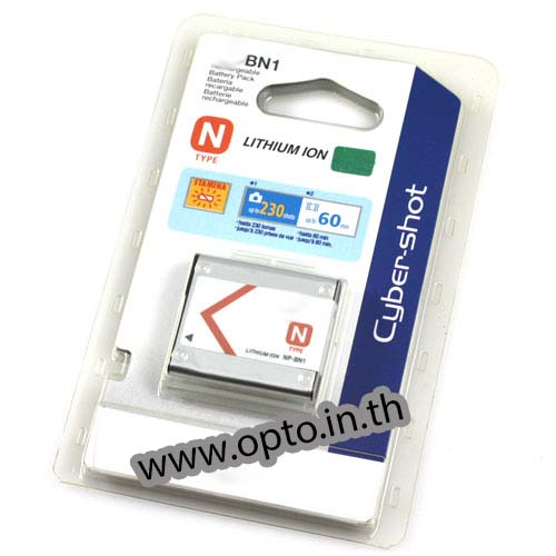 Li-on Rechargeable battery NP-BN1 For Sony แบตเตอรี่กล้องโซนี่