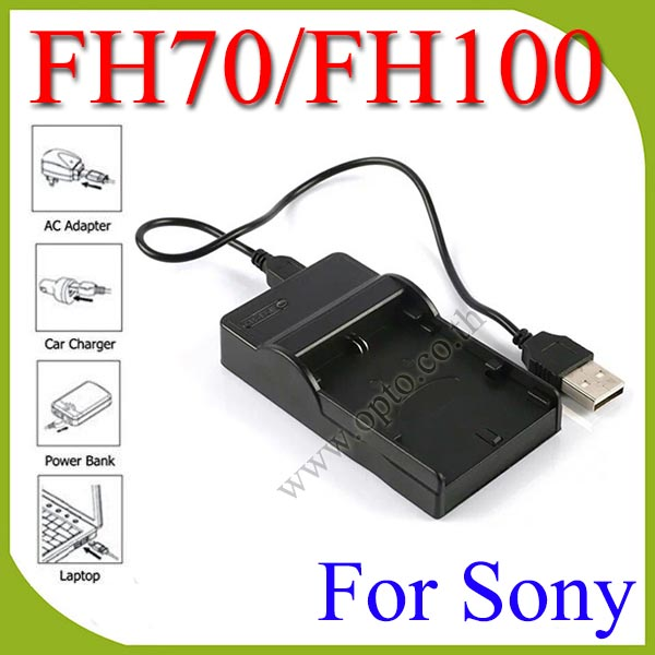 USB FH70/FH100 Battery Charger For Sony NP-FV50 FP50 FH50