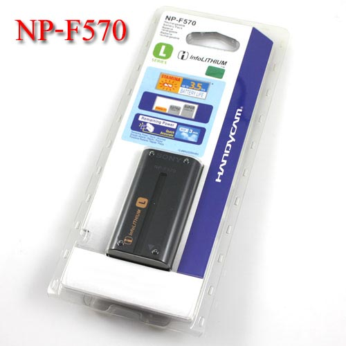 Li-on Rechargeable battery NP-F570 For Sony(YN-300 YN-600) แบตเตอรี่กล้องโซนี่