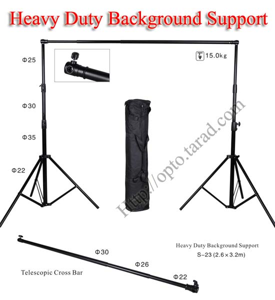Background Stand Set Heavy Duty Backdrop S-23