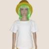 เสื้อยืดเด็กสีขาว ผ้าคอทตอน#32ไซส์L