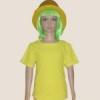 เสื้อยืดเด็กสีเหลือง ผ้าคอทตอน#32ไซส์M