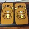 เคส Samsung A5 ซิลิโคนหมีคุมะ