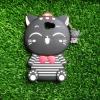 เคส Samsung J7 Prime ซิลิโคนแมวนำโชค เสื้อลาย