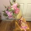ช่อดอกไม้โทนสีชมพู สำหรับง้อแฟน (XL)