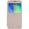 เคส Samsung E7 เคส nillkinแท้ รุ่น Sparkle Leather Case สีทอง