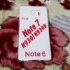 เคส Samsung Note7 เคส TPU ใส 0.5 (ใช้กับงานสรีนได้)