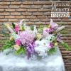 กระเช้าดอกไม้ Floraison's โอกาสแสดงความยินดี (L)