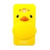 เคส Samsung J7 เคส ซิลิโคน เป็ดเหลือง