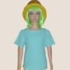 เสื้อยืดเด็กสีฟ้า ผ้าคอทตอน#32ไซส์L