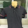 เสื้อโปโลชาย สีดำขอบชมพู ไซส์/M/รอบอก38นิ้ว