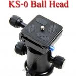 KS-0 Professional Camera Tripod Ballhead Ball Head 8kg
