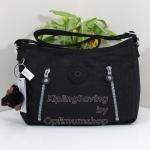 Kipling Anaelle Black กระเป๋าสะพาย ขนาดกำลังดี สะพายในวันชิลล์ๆ ขนาด ยาว 11.25 นิ้ว สูง 8 นิ้ว กว้าง 4.5 นิ้ว