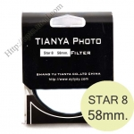 TIANYA Star 8 Filter 58mm.
