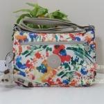 Kipling Callie Floral Night Natural กระเป๋าสะพาย ขนาด L10.5 x H7.5 x D 4.5 นิ้ว